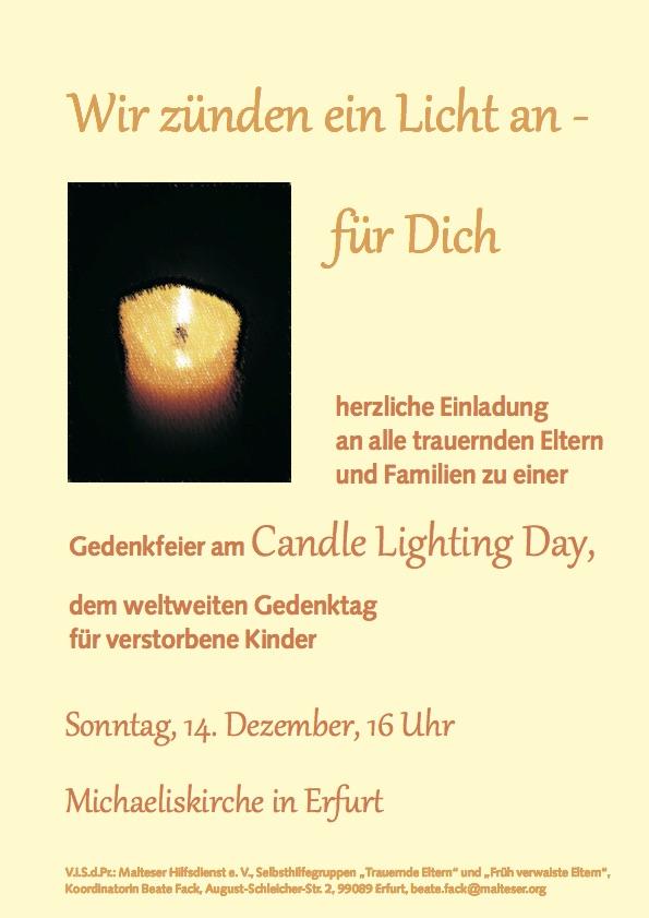 Gedenkfeier Für Verstorbene
